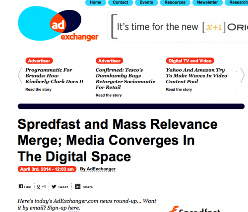 Spredfast and Mass Relevance merger What it means for